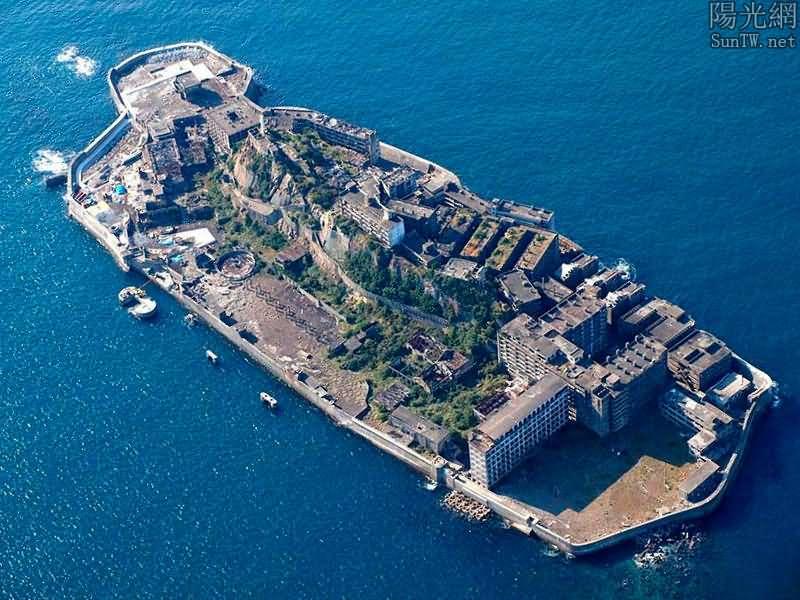 7個令人毛骨悚然的廢棄城市,日本端島最恐怖--陽光網