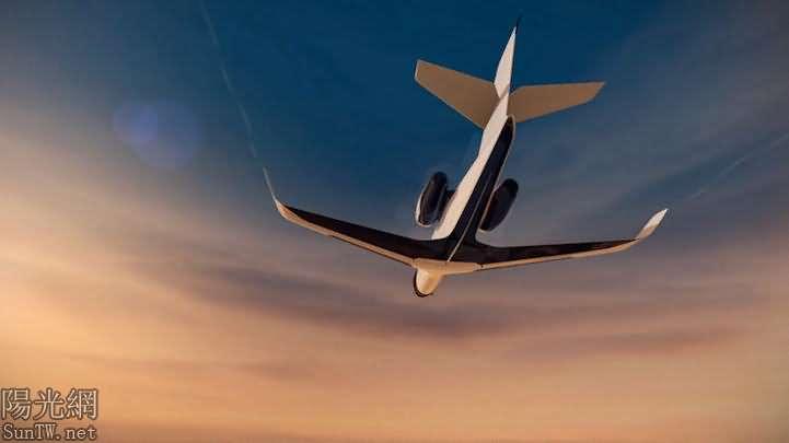 新型無窗噴氣式私人飛機,提供身臨其境的全景--陽光網