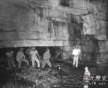 印第安人守護遠古隧道竟藏外星人秘密