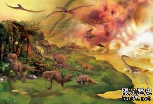反觀歷史上的五次生物大滅絕