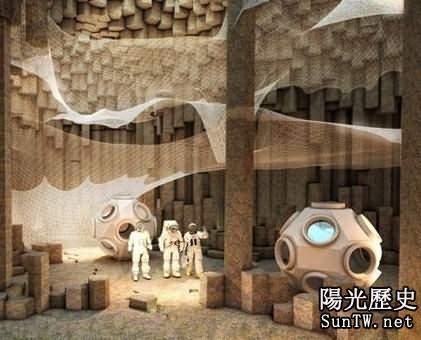 美國宇航局欲在火星建造地下洞穴