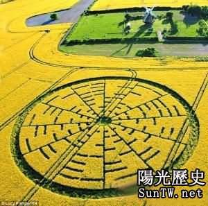 沙漠怪圈曝神秘內幕 杭州地圖上也藏玄機