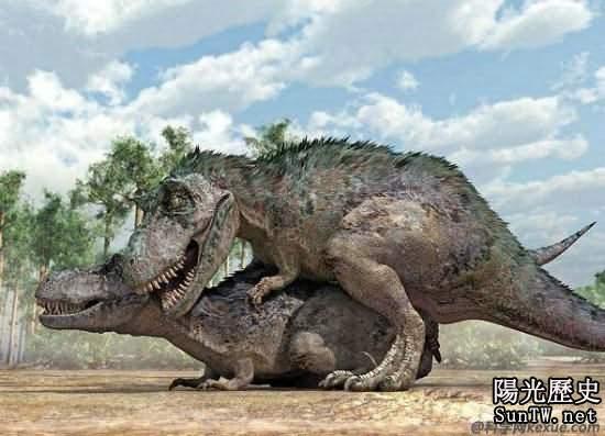 恐龍交配之謎終被揭開 龐大生物交配似犬類(圖)