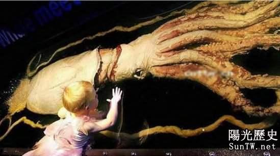 潛伏海洋中的全球十大最恐怖海洋怪獸