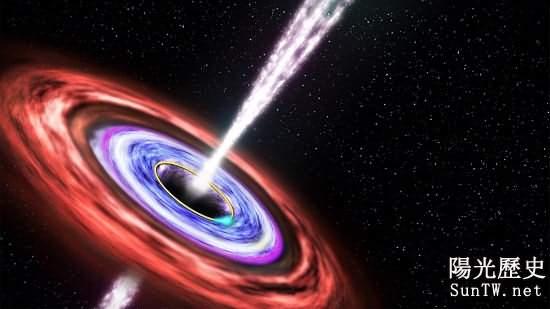 科學家探測到特大質量黑洞正在吞噬星體