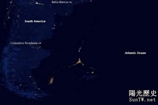 驚人發現:地球無人區驚現神秘光源