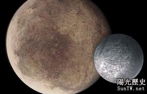 隱形月亮冥王星周圍有十多顆驚歎