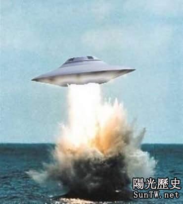 UFO光臨美航母 帶給地球人忠告