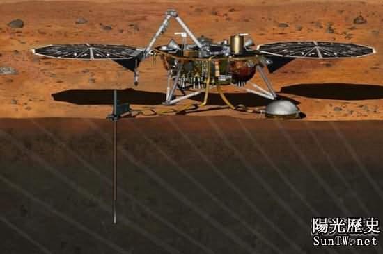 「洞察」號2016年將揭開火星內部之謎