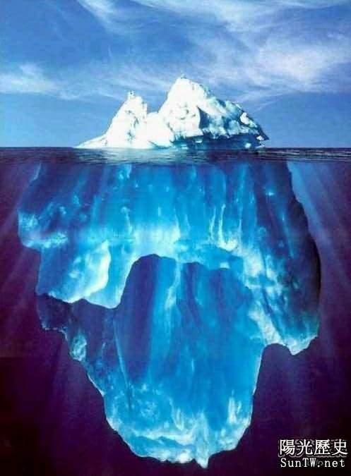 格陵蘭島冰蓋下發現巨大捲心狀冰雕