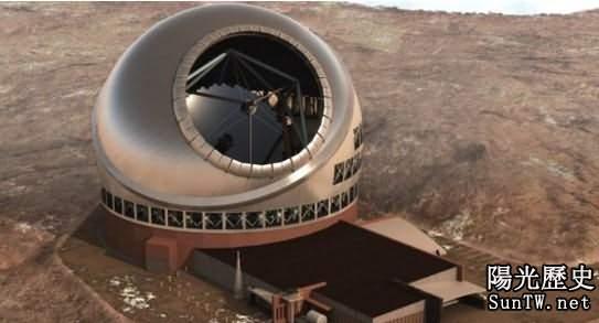 夏威夷將建造世界最大光學望遠鏡