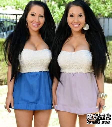 奇葩:雙胞胎姐妹求相似 男友也共享