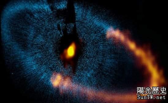「北落師門」恆星發生彗星碰碰車事件
