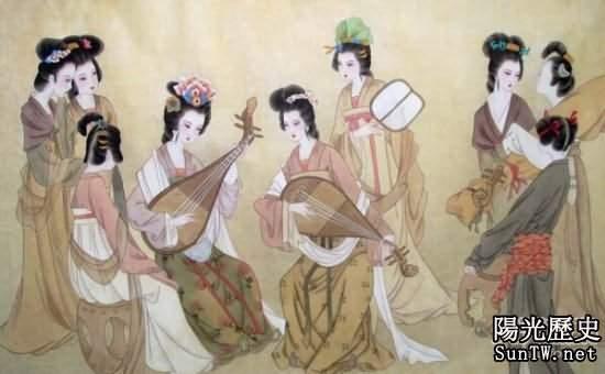 揭秘中國古代歷史上的官妓:任人玩樂