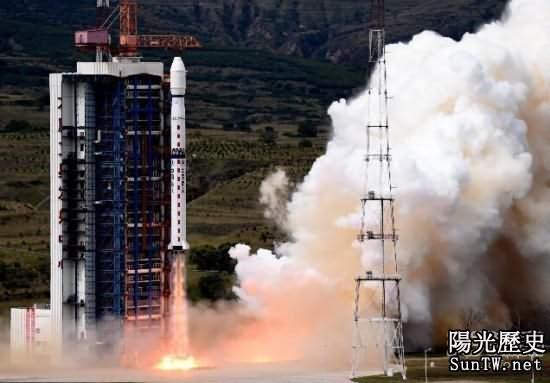 中國用長征火箭成功發射遙感衛星21號
