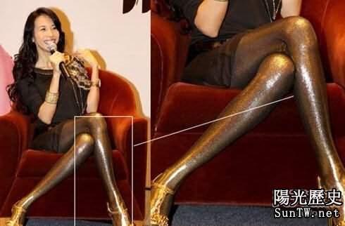 太性感搶眼 細數娛樂圈十大美腿女星