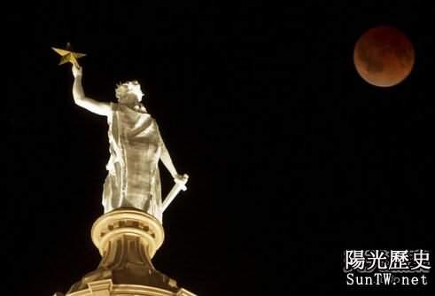 神秘的「血月」傳說 有大事要發生?