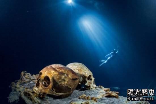 揭秘瑪雅文明水下遺址 神秘屍骨存疑
