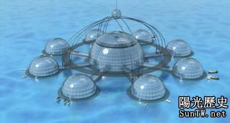 海底城市設計:水下旋轉摩天大樓上榜