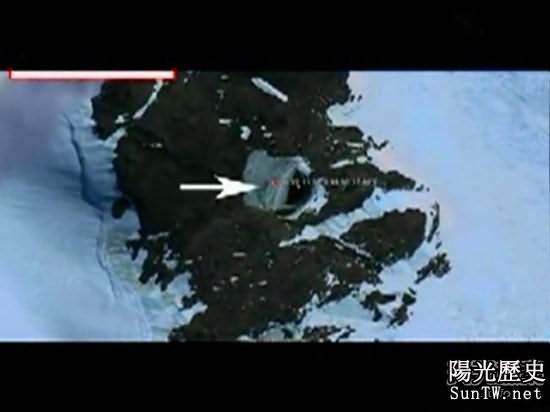 南極外星人基地超越現代文明