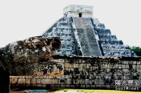 墨西哥瑪雅金字塔之謎
