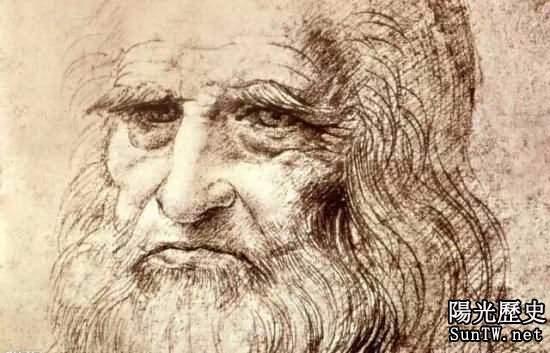 達芬奇自畫像