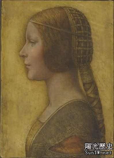 《美麗公主》達芬奇