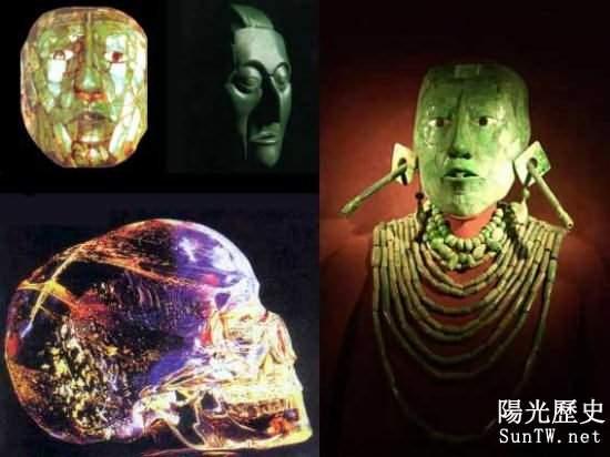 中美洲瑪雅神廟驚現千年水晶頭顱