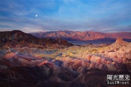 死亡谷美麗景色