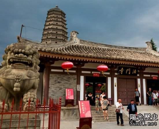 法門寺現在成了一個旅遊聖地