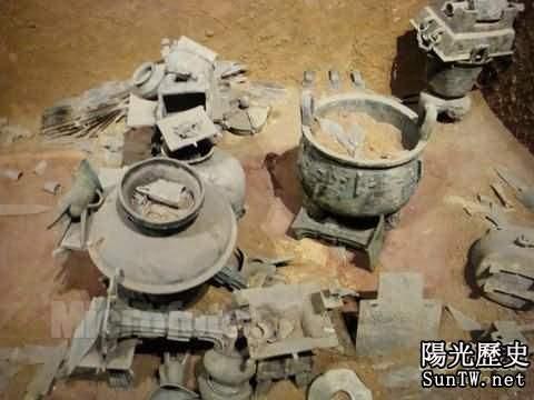 中國墓葬史中奇聞:盜墓賊辱屍行為