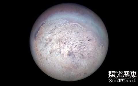 冥王星雖小 卻並非與「特裡同」一家