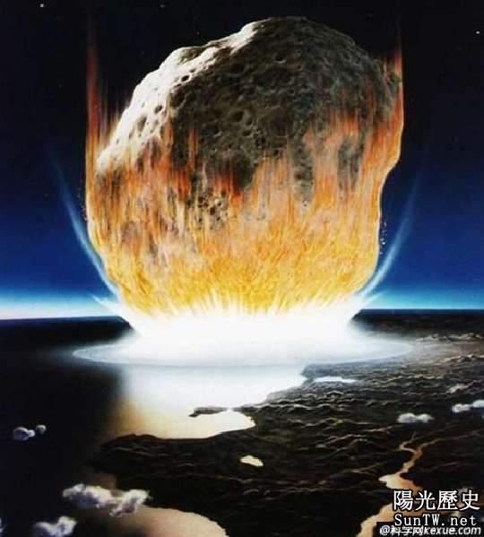 地球生物大滅絕 恐龍滅絕新說