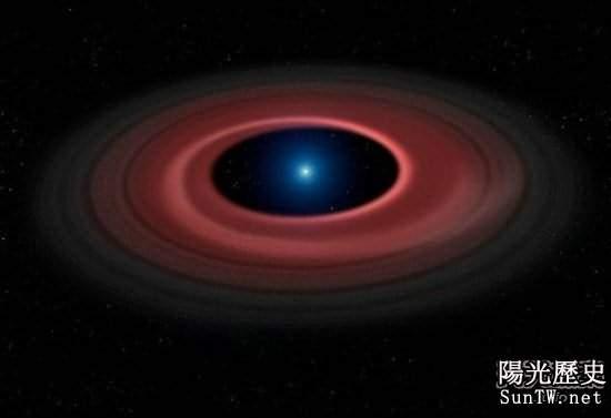 「殭屍恆星」雖然個子小 確比土星重2500倍