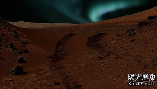 據歐洲空間局觀測稱:其實火星上也有極光