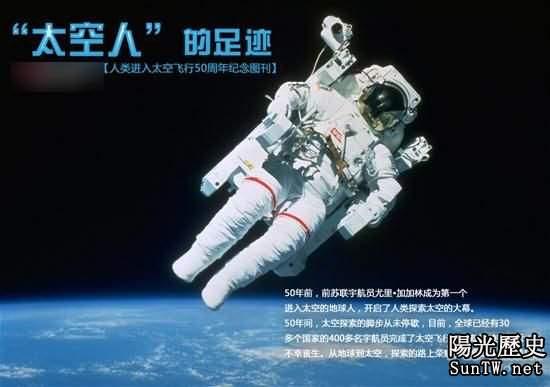 人類太空足跡