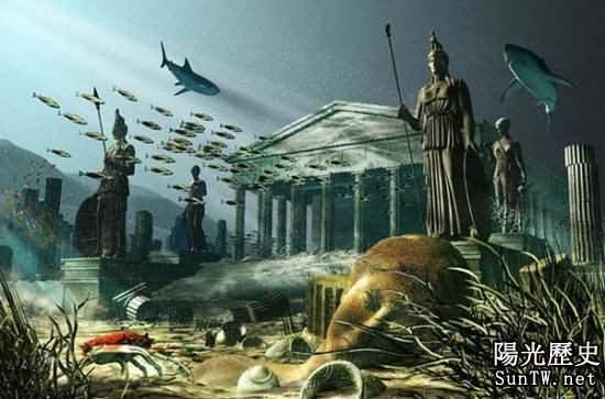 千古之謎:亞特蘭蒂斯文明竟一夜消失