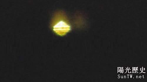 小學生拍下不明飛行物凸起呈橢圓形