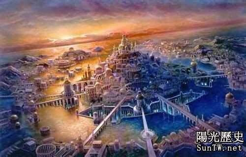失落的亞特蘭蒂斯文明