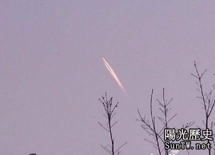 長春市民拍到UFO照片 有人指出是飛機