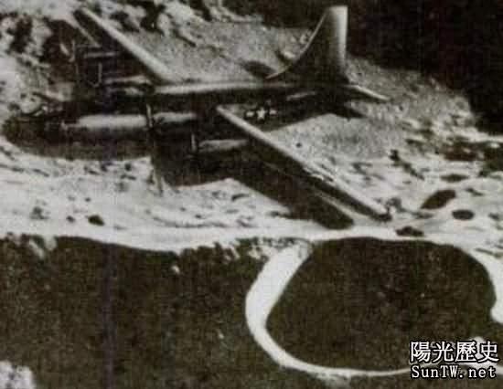 二戰飛機失蹤數十年後竟現身月球