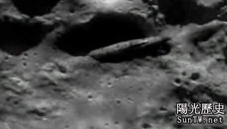 月球上巨大宇宙飛船殘骸背後的秘密