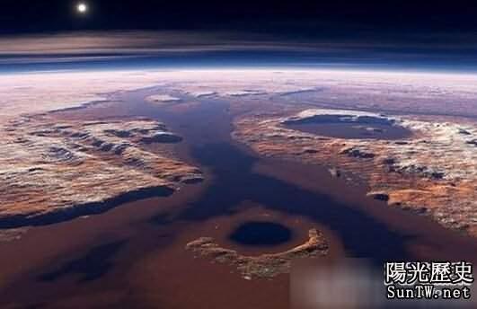 火星神秘地下通道:未來人類定居點