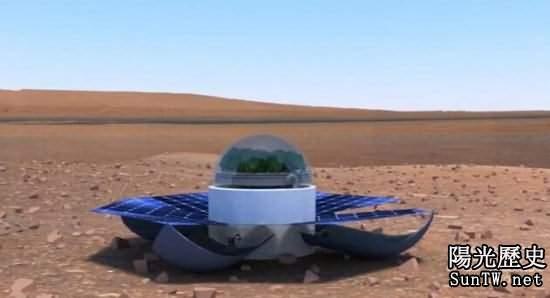 震驚:美國計劃在火星種植開花植物