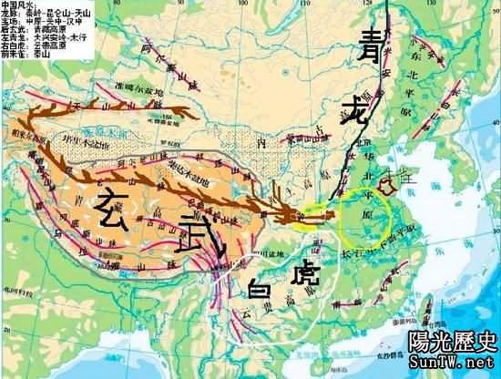 中國大地暗藏24條龍脈 始祖竟源自這裡