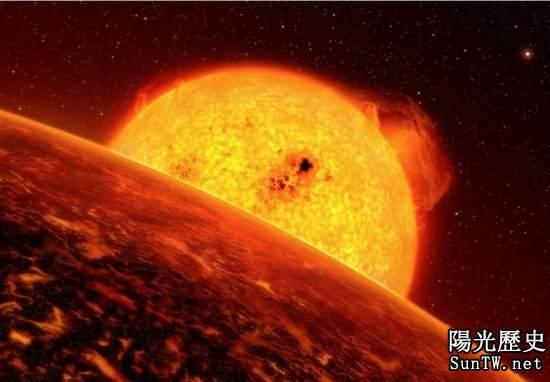盤點宇宙詭異天體:地獄行星岩漿沸騰